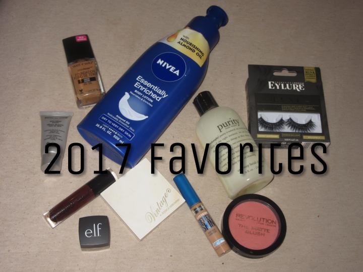 Beauty Favorites 2017