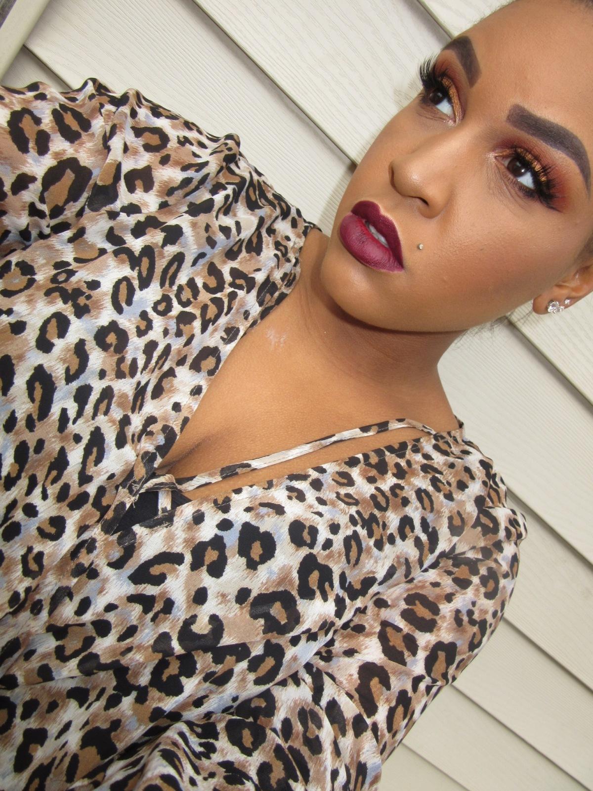 Fall Copper Makeup