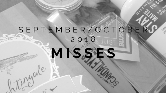 September/October 2018 Misses
